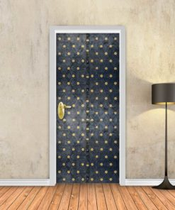 טפט לדלת שער מתכת עתיק