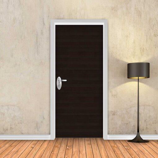 טפט לדלת עץ וונגה כהה