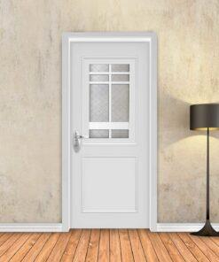 טפט לדלת לבן מסגרות אלגנט