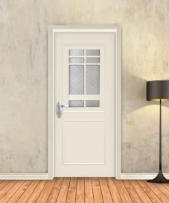 טפט לדלת שמנת מסגרות אלגנט