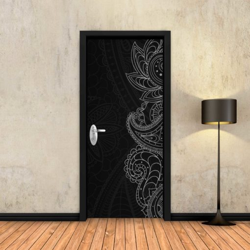 טפט לדלת שחור דמיוני