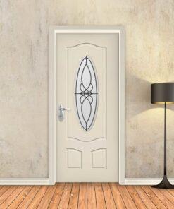 טפט לדלת שמנת חלון עגול
