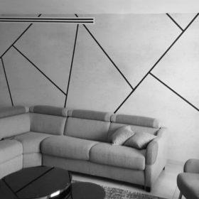 מדבקות קיר גיאומטריות