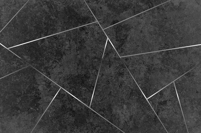 טפט גאומטרי שחור ניקל