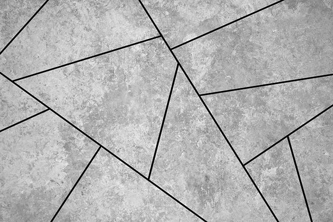טפט גיאומטרי אפור שחור