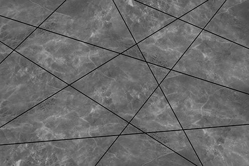 טפט גאומטרי שייש שחור