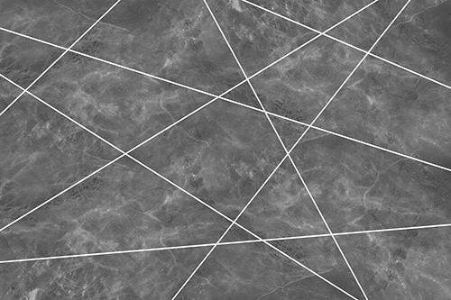 טפט גאומטרי שייש לבן